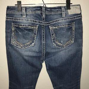 Silver Suki Boot Cut Jeans Women's 32 32